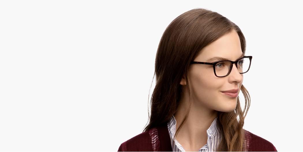 Welty Eyeglasses In Rose Fog For Women Warby Parker