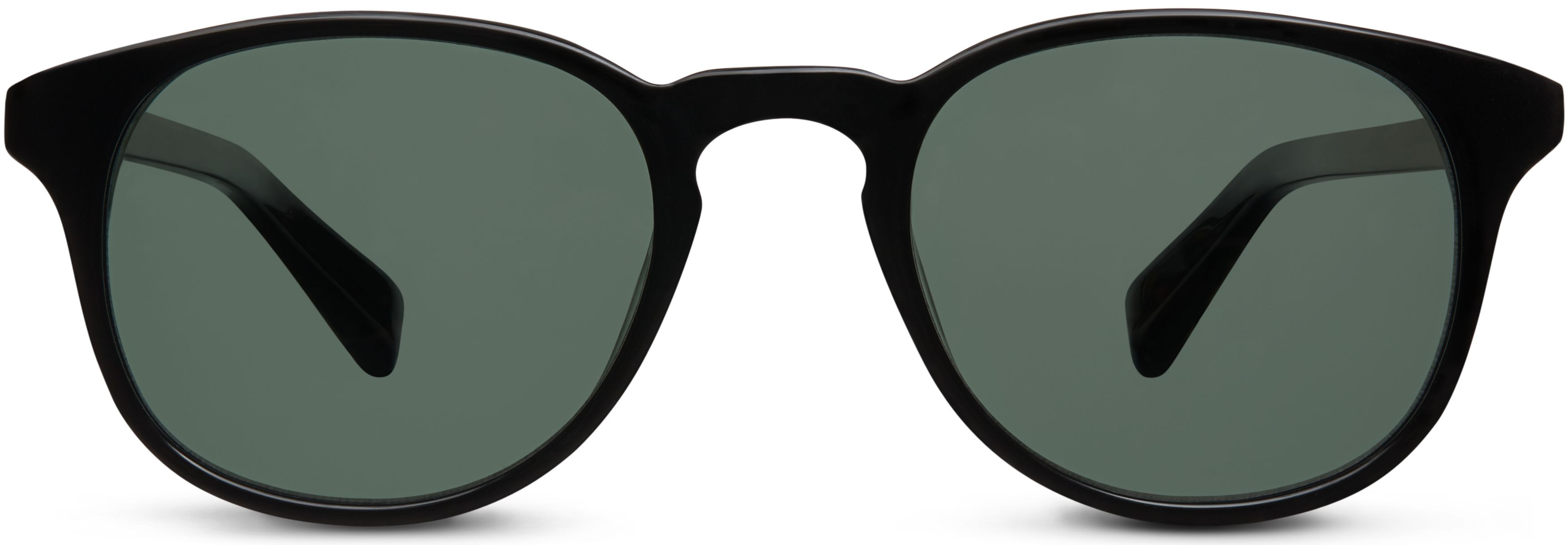 02a1b417d1 Downing Sunglasses in Jet Black with Green Grey lenses for Men ...