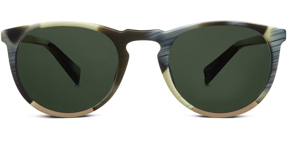 Warby Parker Sunglasses - Haskell in Pearl Horn With Toffee