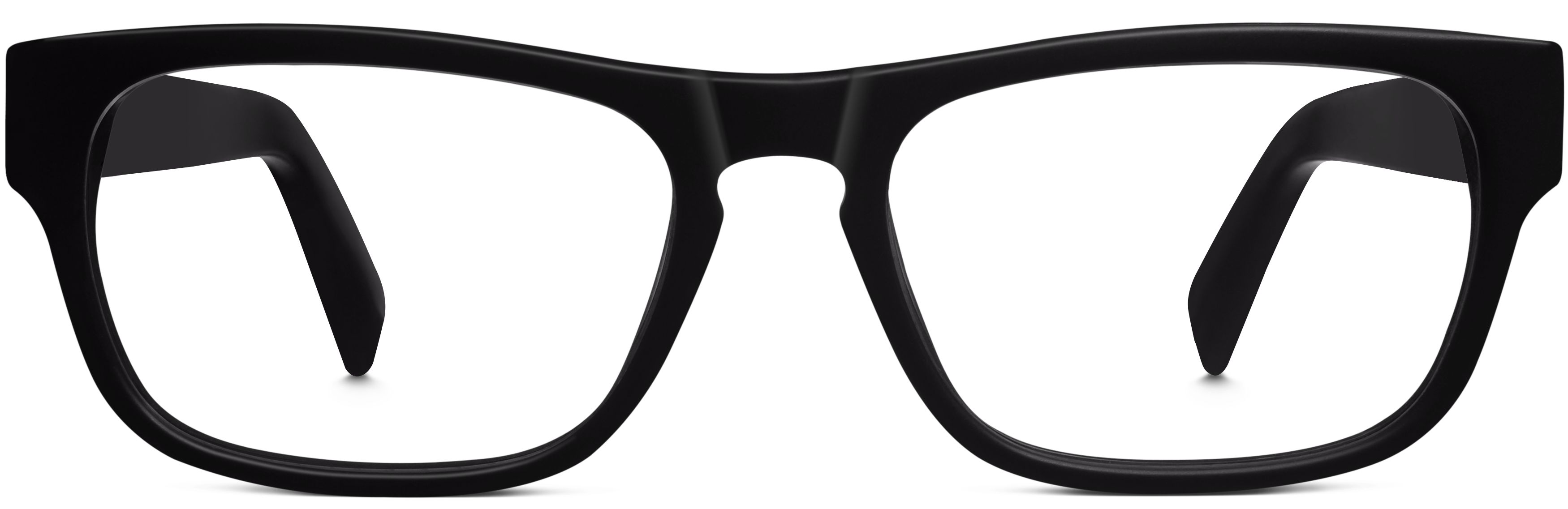 cfa2076b4d8 Roosevelt Eyeglasses in Jet Black Matte for Men