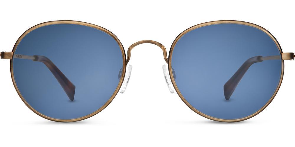 Warby Parker Sunglasses - Abbott in Heritage Bronze