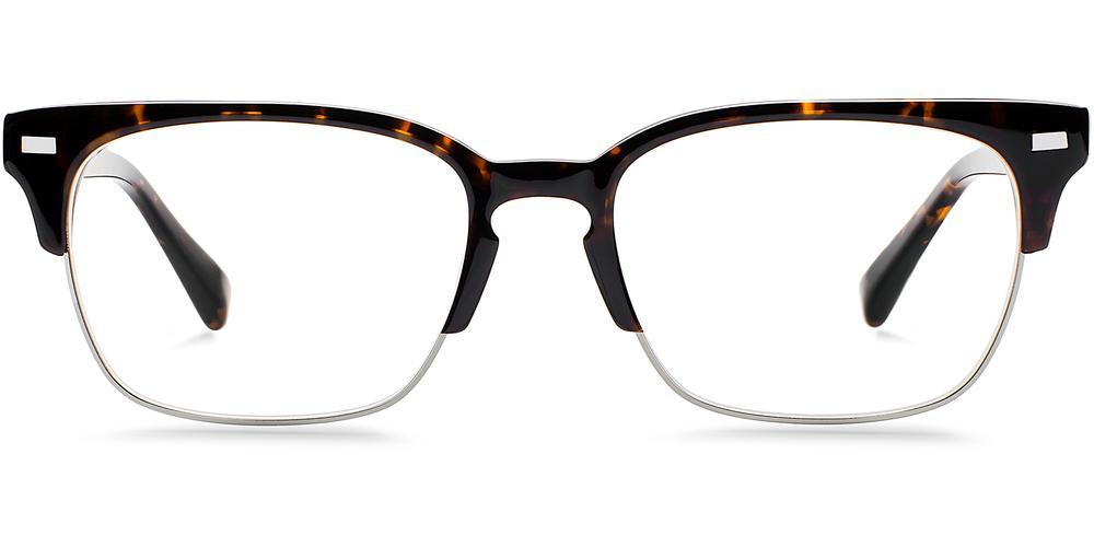 Warby Parker Eyeglasses - Ames in Whiskey Tortoise