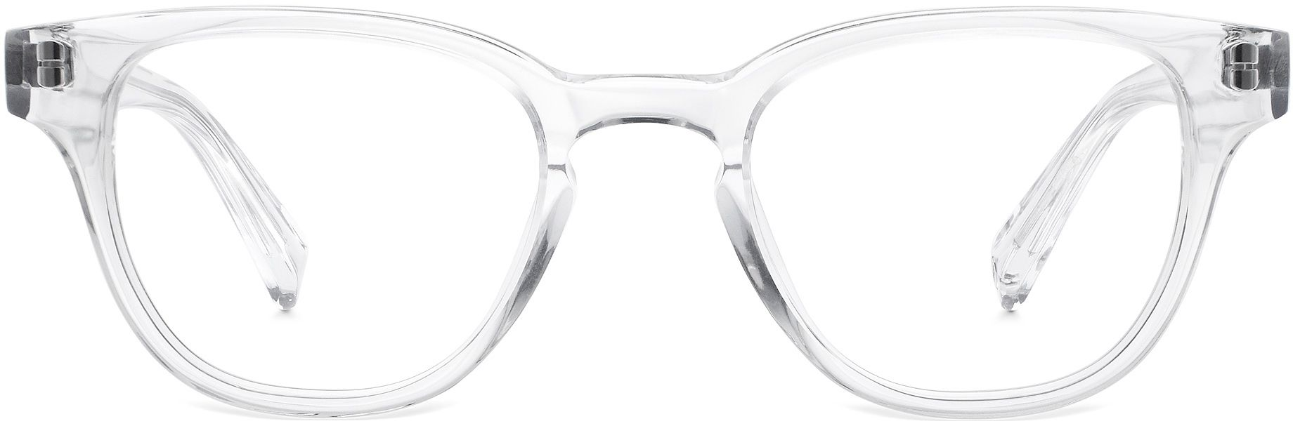 Coley Eyeglasses in Crystal for Women | Warby Parker