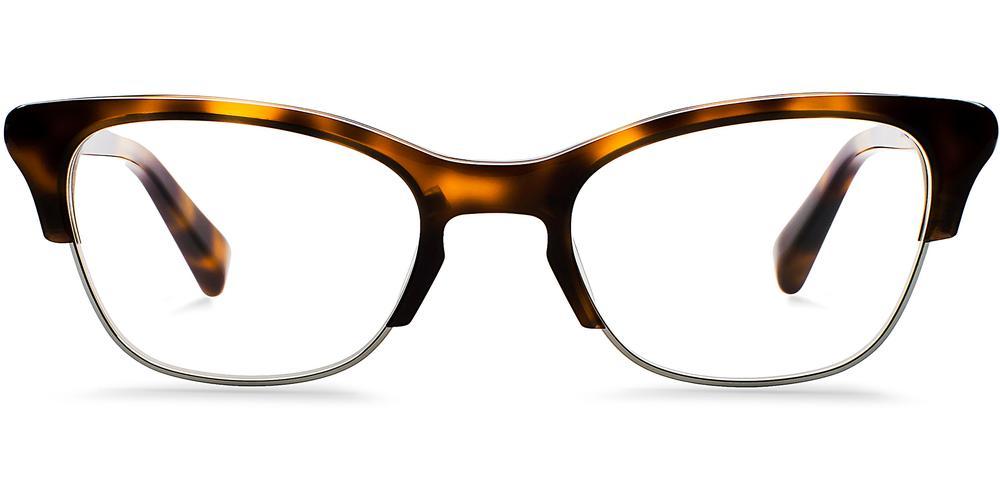 Warby Parker Eyeglasses - Holcomb in Oak Barrel