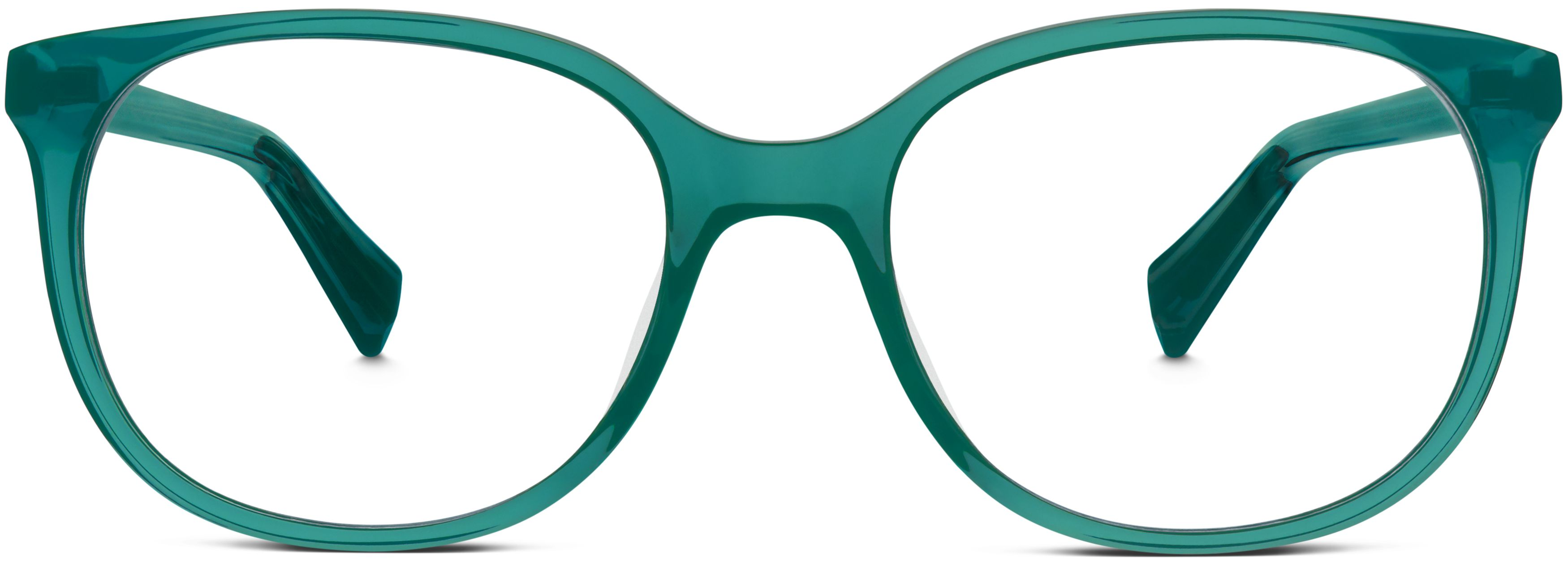 laurel eyeglasses in peacock green for women warby parker