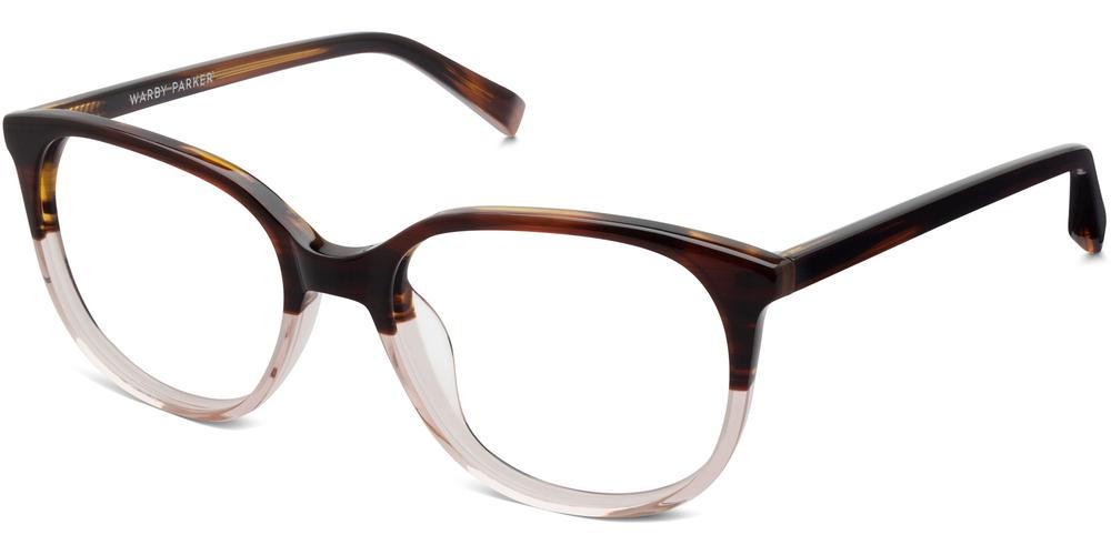 Warby Parker Eyeglasses - Laurel in Tea Rose Fade