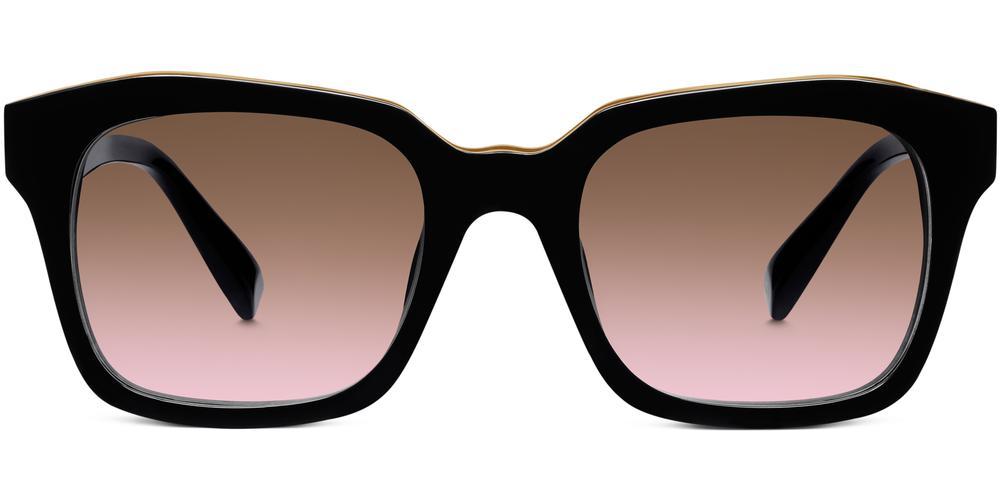 Warby Parker Sunglasses - Lovett in Jet Black
