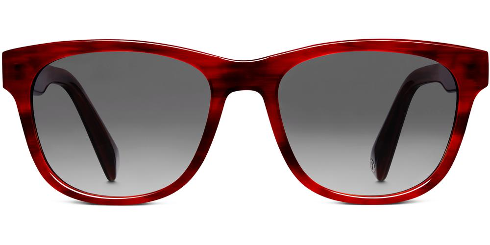 Warby Parker Sunglasses - Madison in Rum Cherry