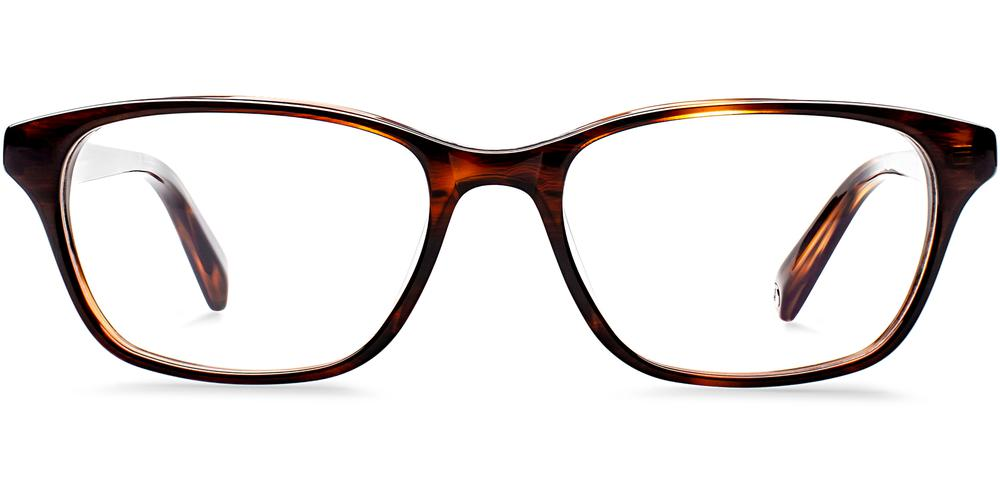 Warby Parker Eyeglasses - Marshall in Sugar Maple