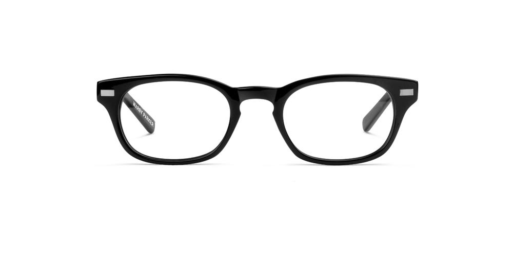 Eyeglasses - Jet Black Brand name eyeglasses, Frames, contact lenses ...