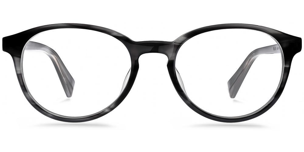 Warby Parker Eyeglasses - Watts in Newsprint Grey