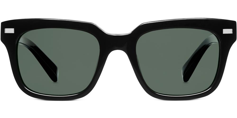 Warby Parker Sunglasses - Winston in Jet Black