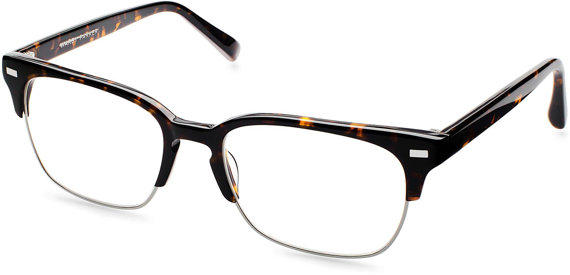 Ames Eyeglasses in Whiskey Tortoise for Men | Warby Parker