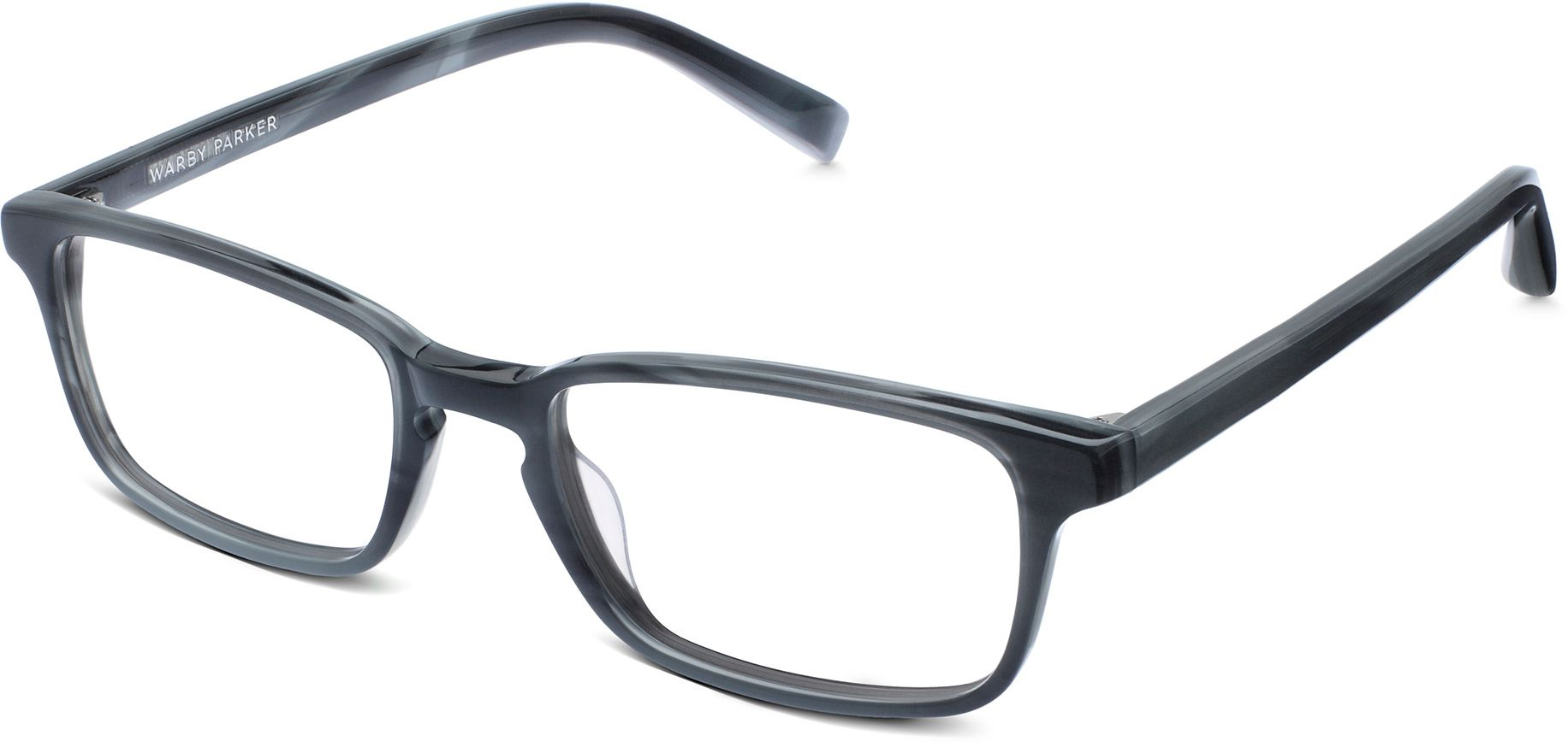 Hardy Eyeglasses in Striped Pacific for Men | Warby Parker