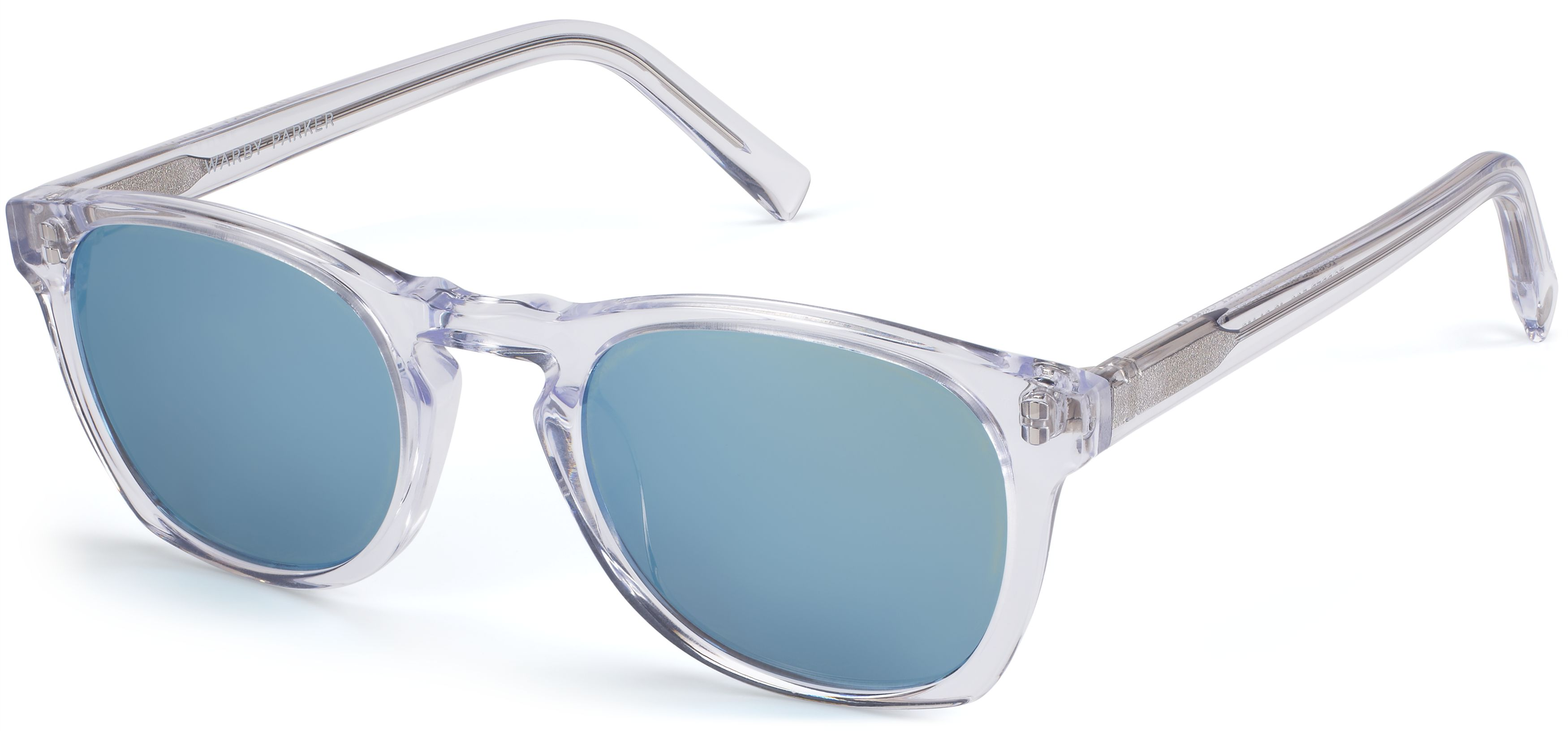 981a5ba614 Topper Sunglasses in Crystal with Flash Mirrored Pacific Blue lenses for Men