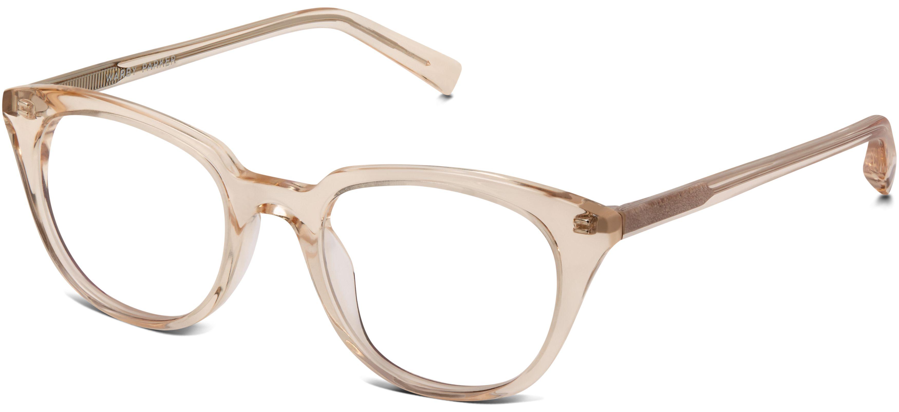 Chelsea Eyeglasses in Grapefruit Soda for Women | Warby Parker