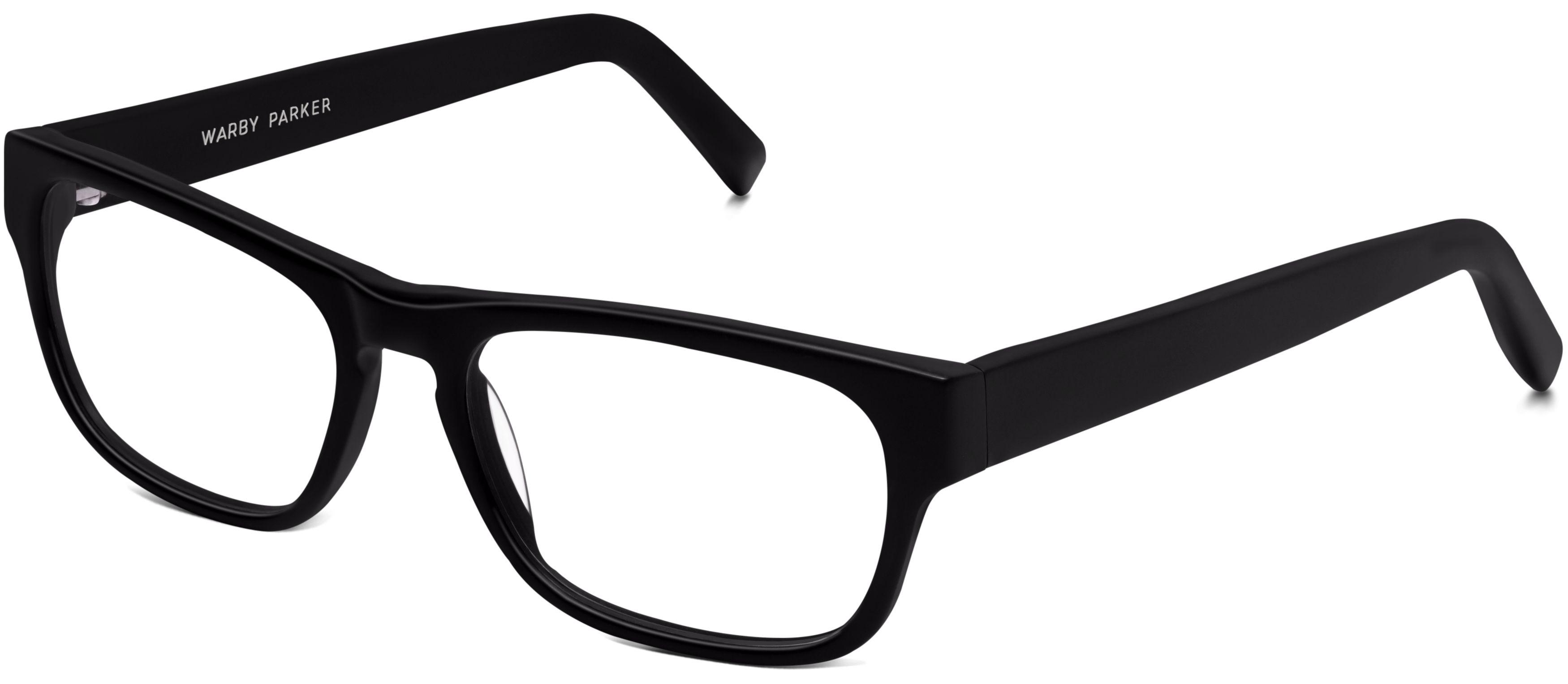 Roosevelt Eyeglasses In Jet Black Matte For Women Warby Parker