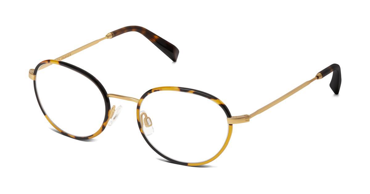 Henry Eyeglasses in Tiger Tortoise for Men Warby Parker