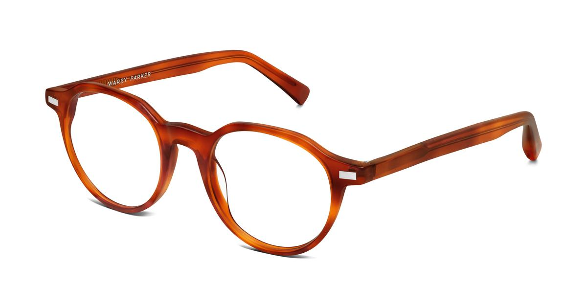 begley eyeglasses in cedar tortoise for warby