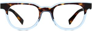 Duckworth in cognac tortoise and bermuda blue