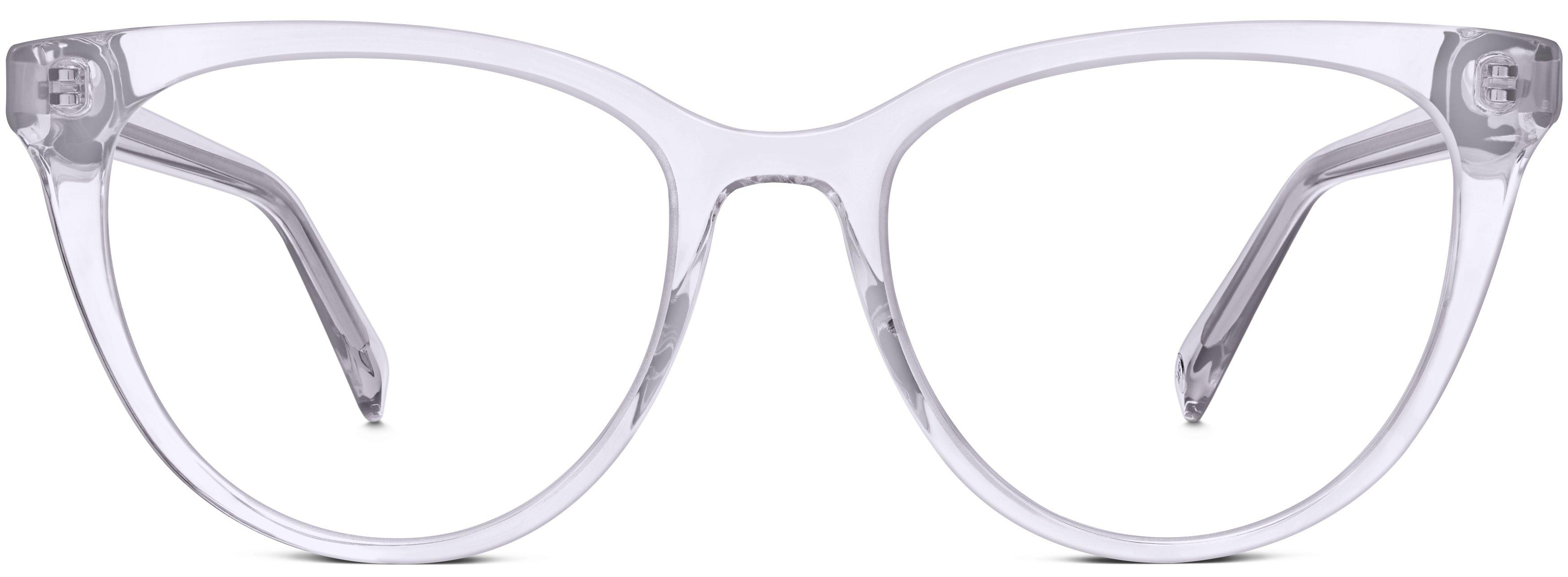 65003e8a63 Haley Eyeglasses in Lavender Crystal for Women