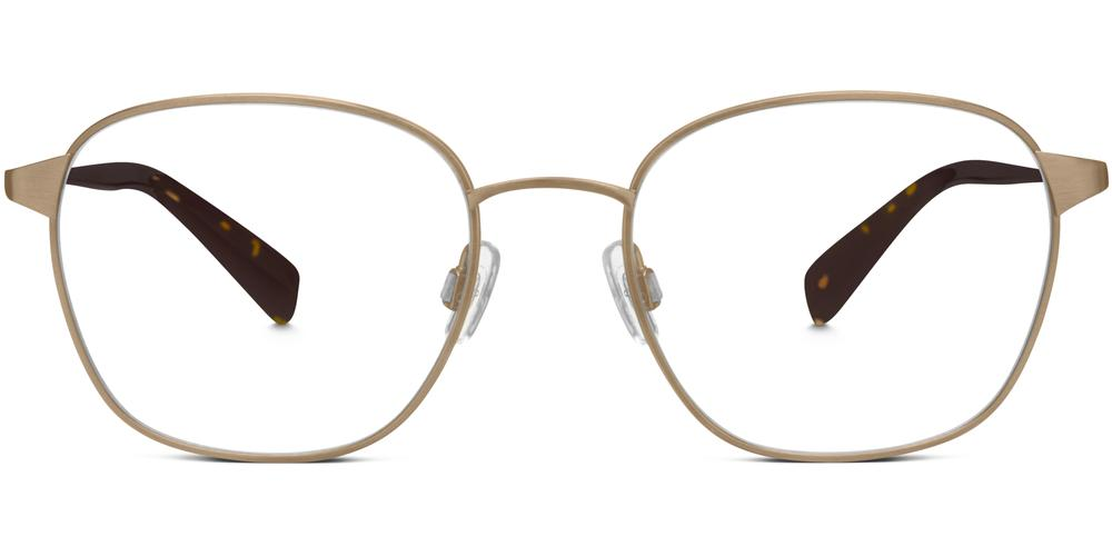 Warby Parker Eyeglasses - Nesbit in Heritage Bronze