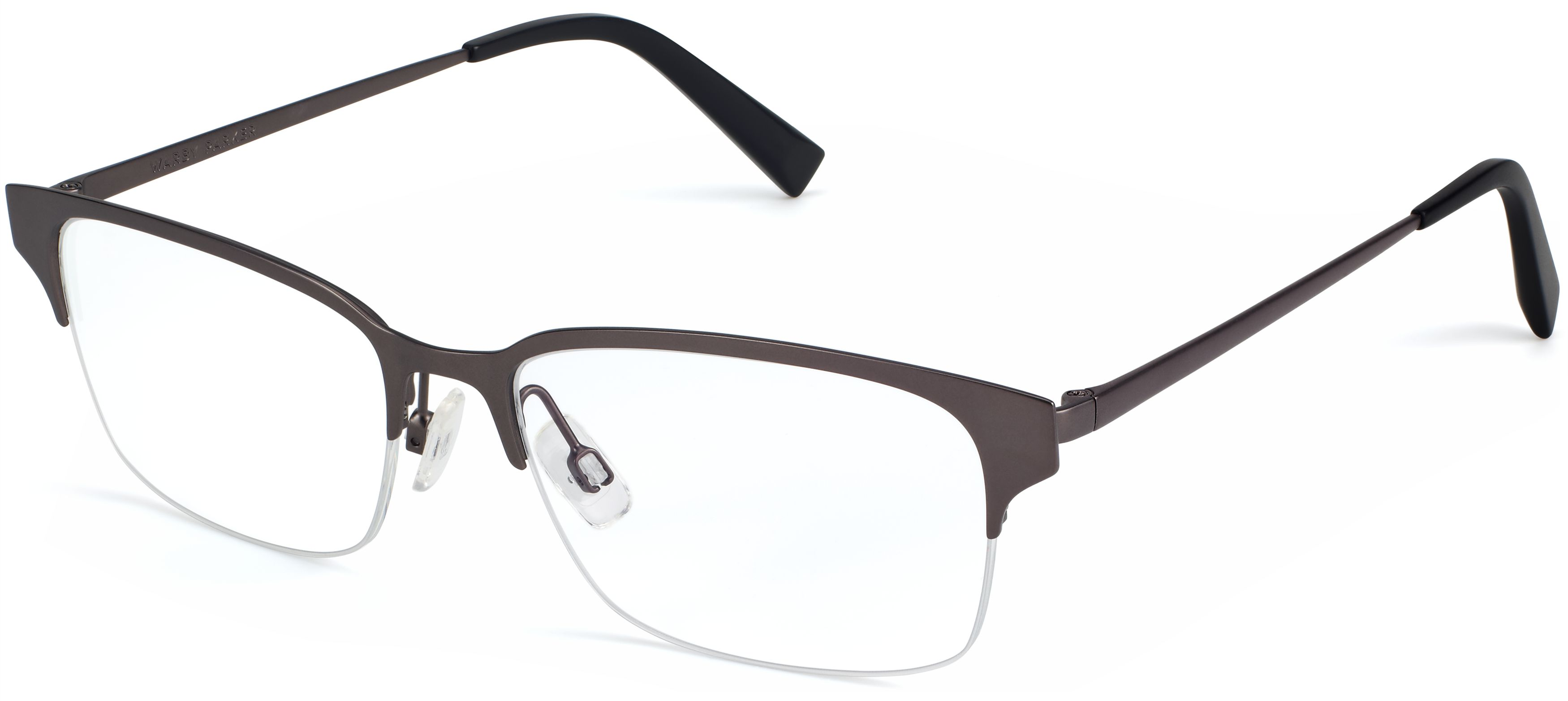 216242a00705 James Wide Eyeglasses in Carbon for Men