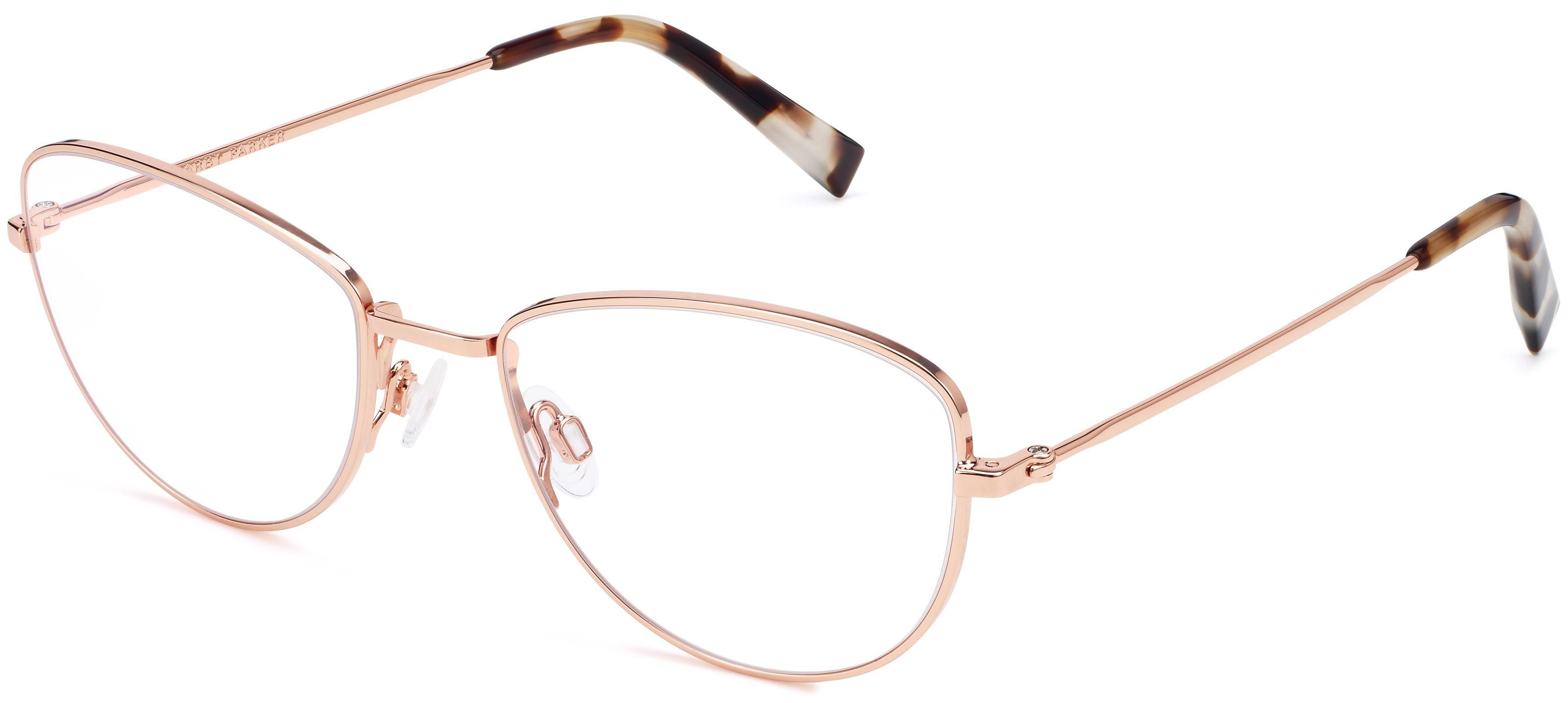 6df0923f2e56 Georgia Eyeglasses in Rose Gold for Women