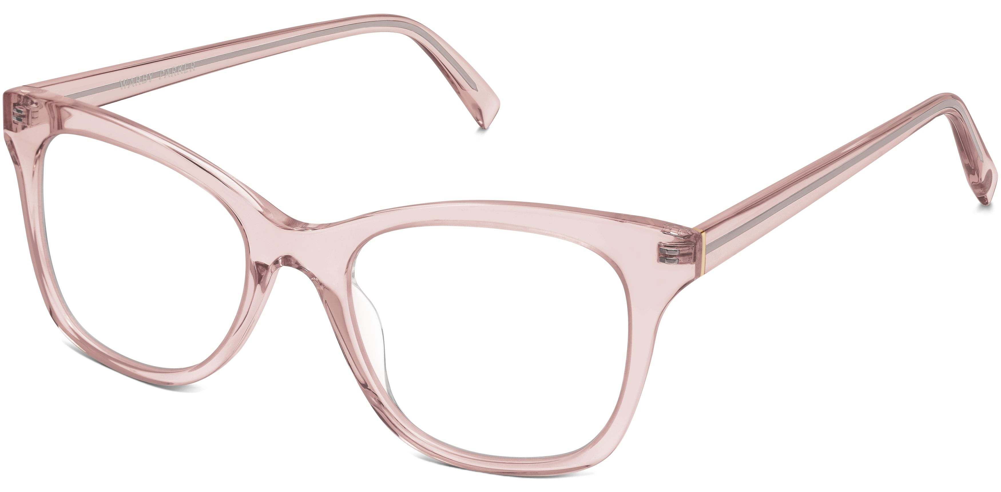 ade1d93a9b Hallie Eyeglasses in Rose Crystal for Women