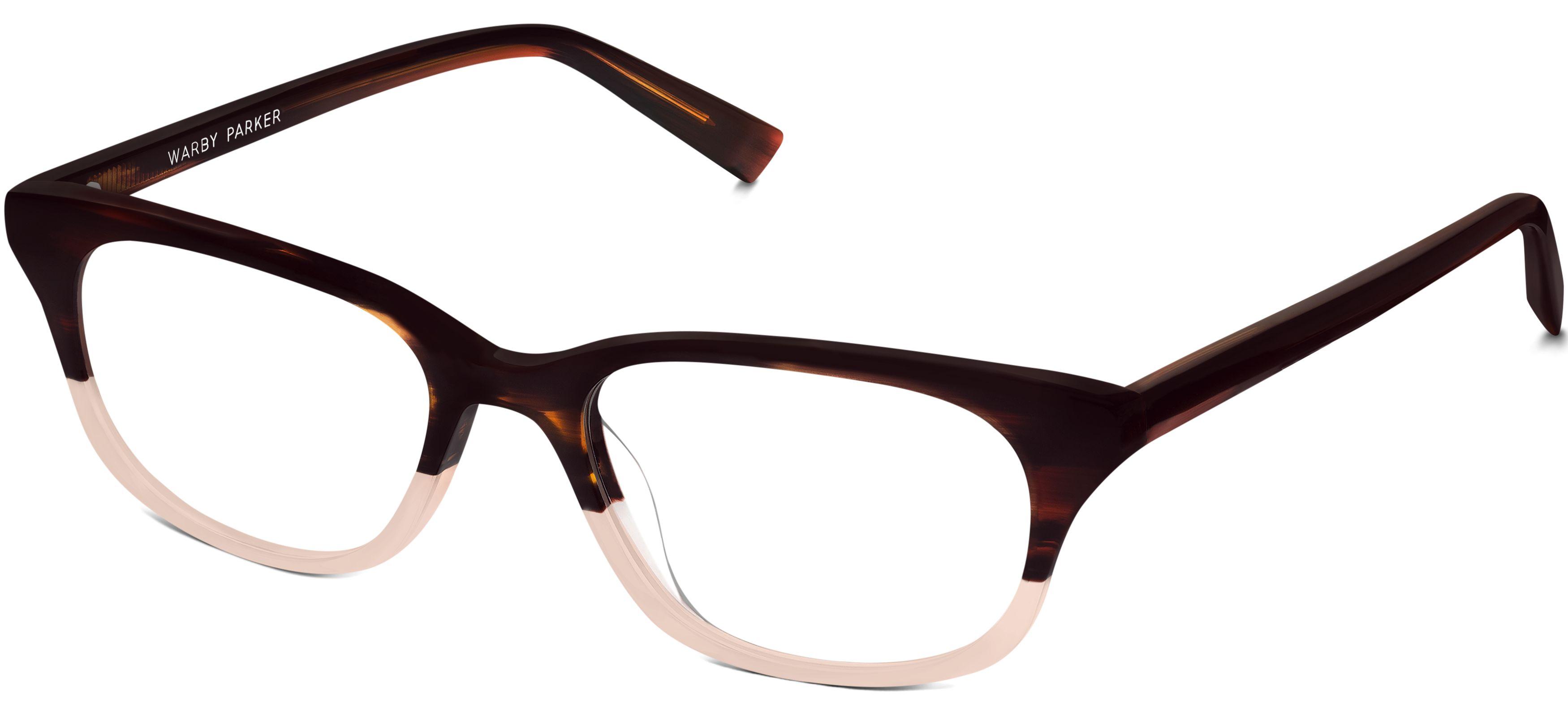 Rose Eyeglasses in Tea Rose Fade for Women | Warby Parker