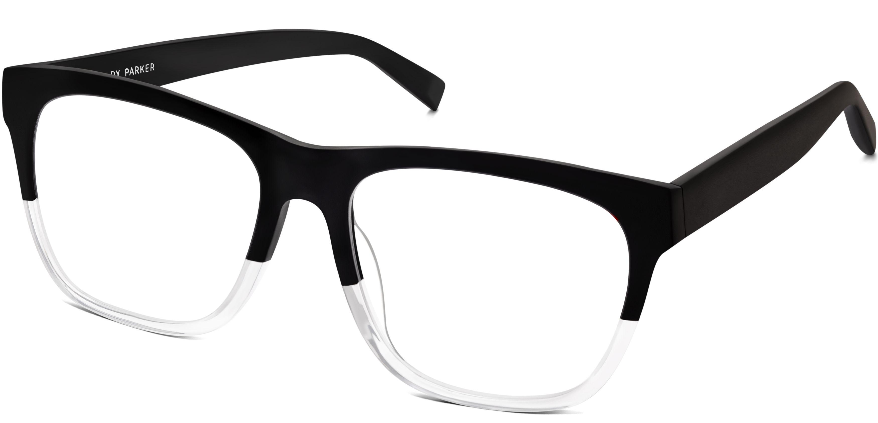 6f364395372c Lowry Eyeglasses in Jet Black Fade for Men