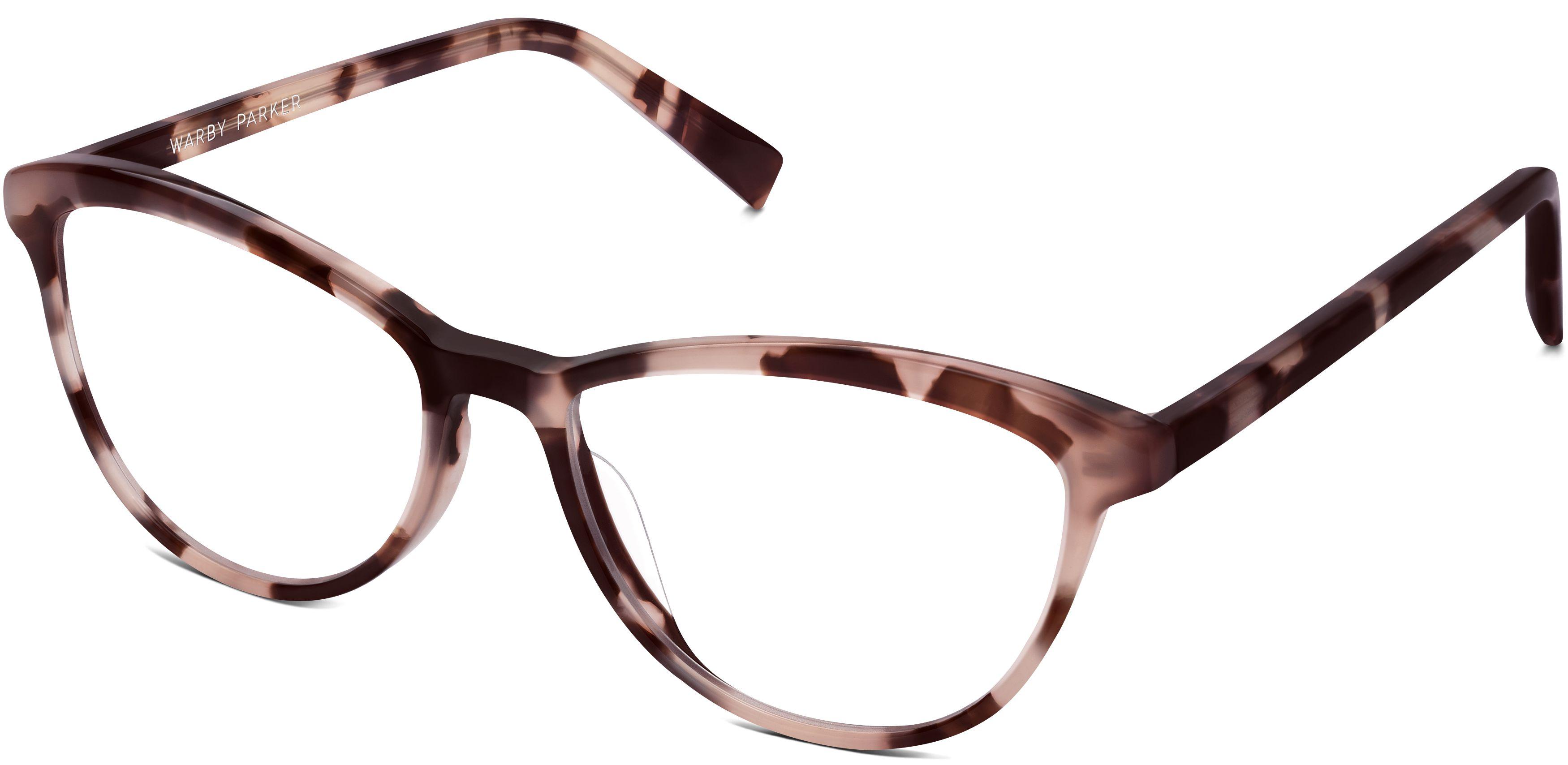 Warby Parker Louise blush tortoise eye glasses #bestglasses #WarbyParker