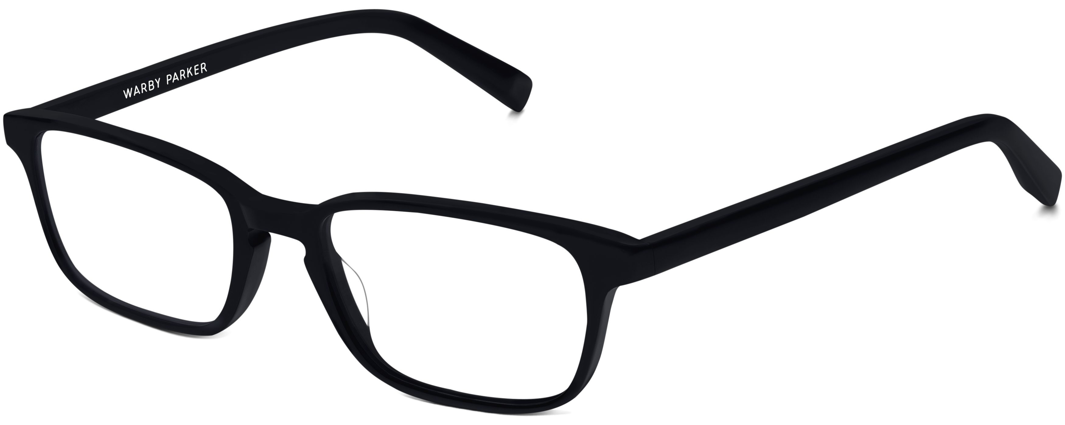 Hardy Eyeglasses in Jet Black for Men | Warby Parker