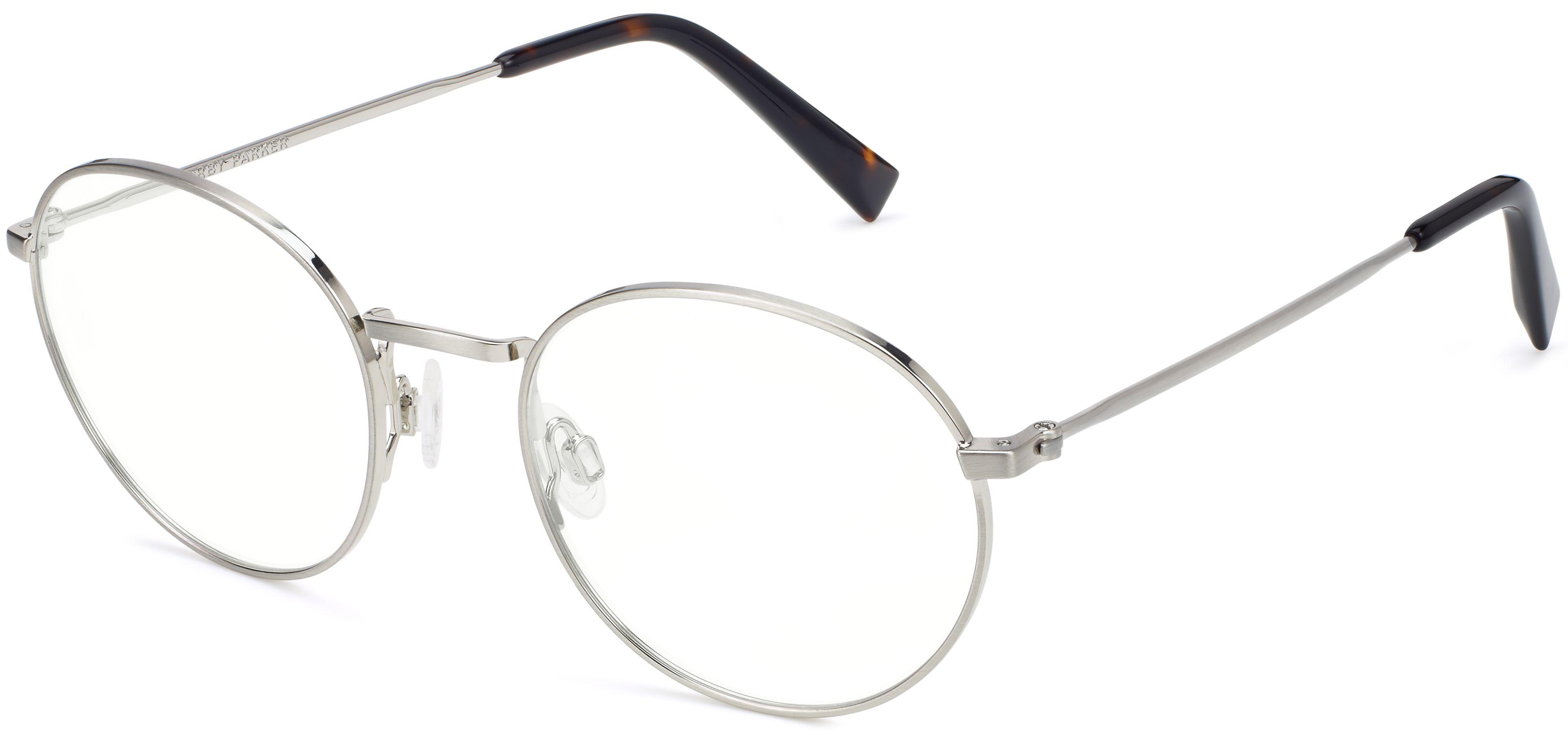 b59eebdf076 Simon Eyeglasses in Antique Silver for Men