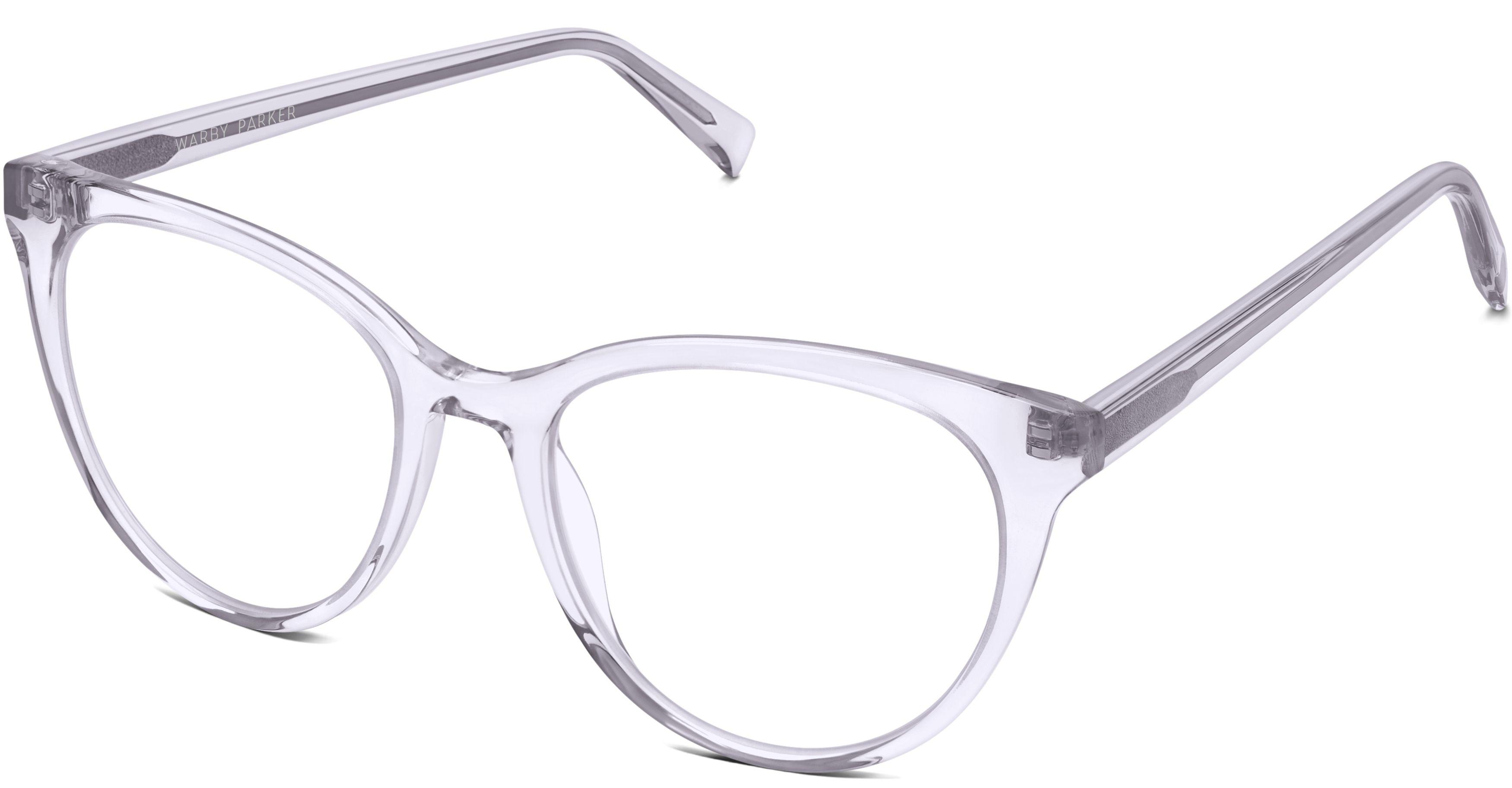8f4f448e2b Haley Eyeglasses in Lavender Crystal for Women