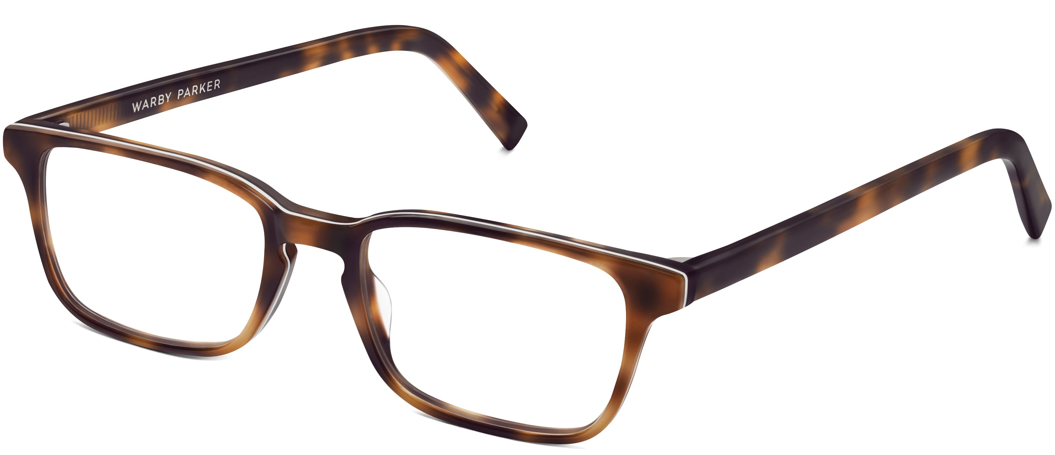 Hardy Eyeglasses in Layered Tortoise for Women | Warby Parker