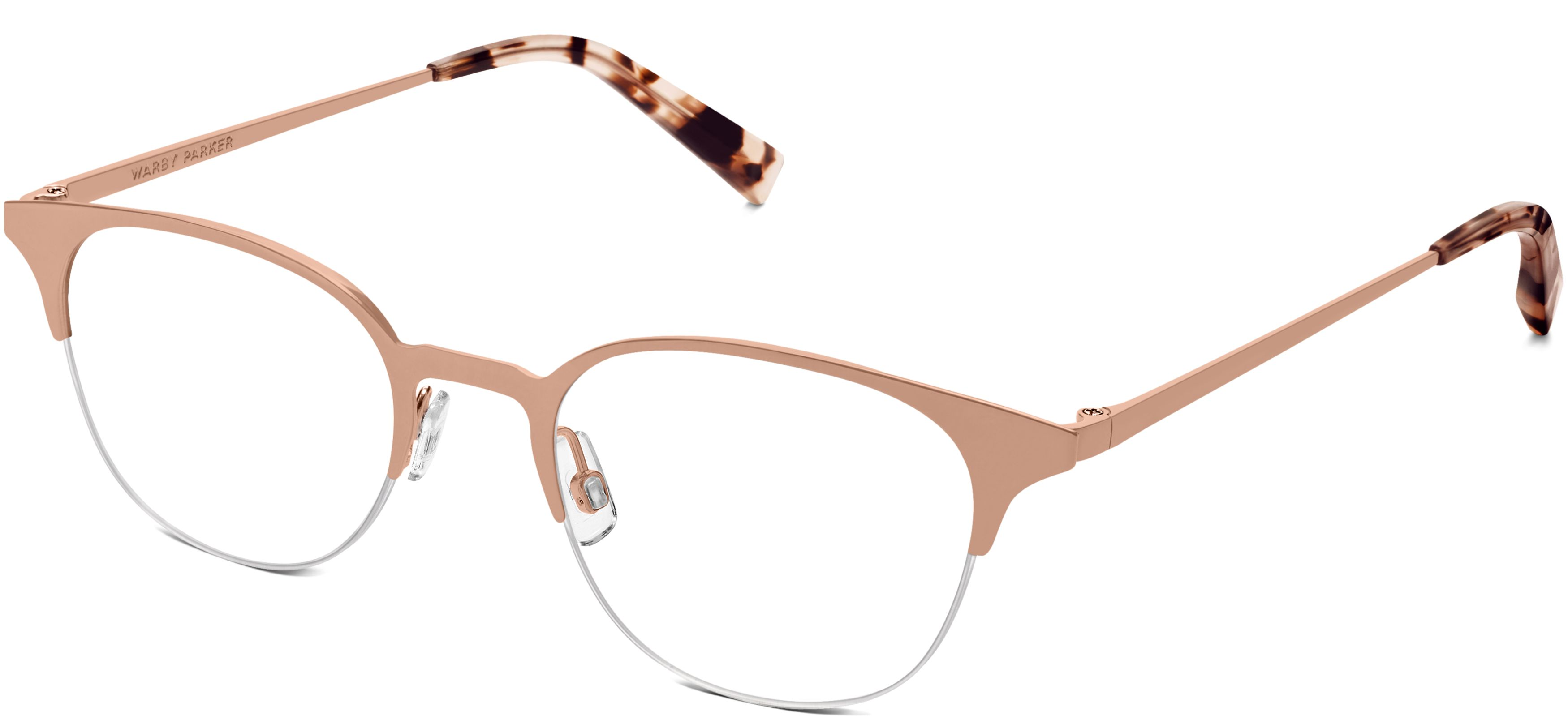 e407d308d8 Violet Eyeglasses in Rose Gold for Women