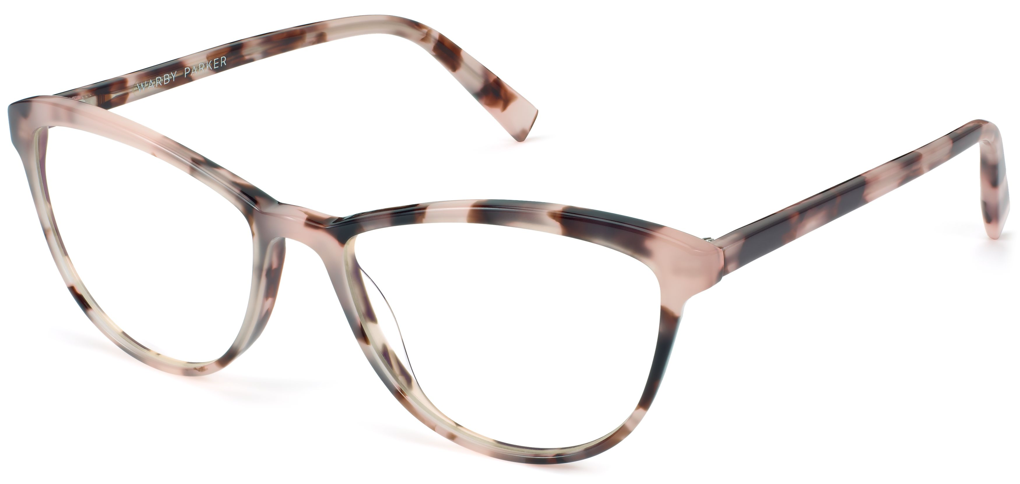 5d8f5ba1dd Louise Wide Eyeglasses in Blush Tortoise for Women