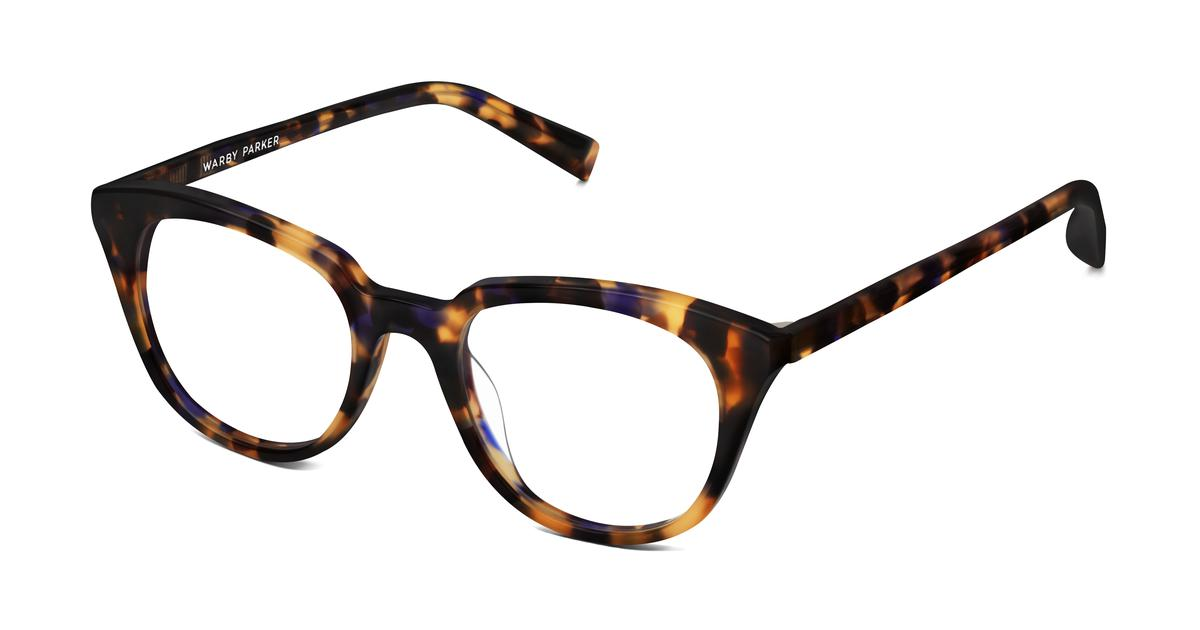 Warby Parker Chelsea Eyeglasses in Violet Magnolia for Women