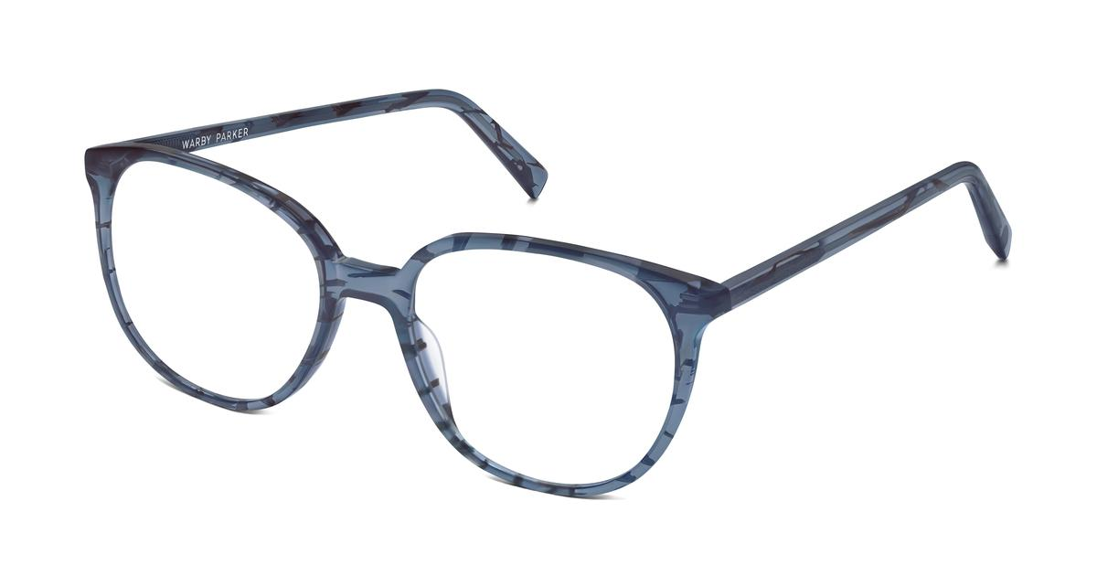 eugene eyeglasses in pacific slate for warby