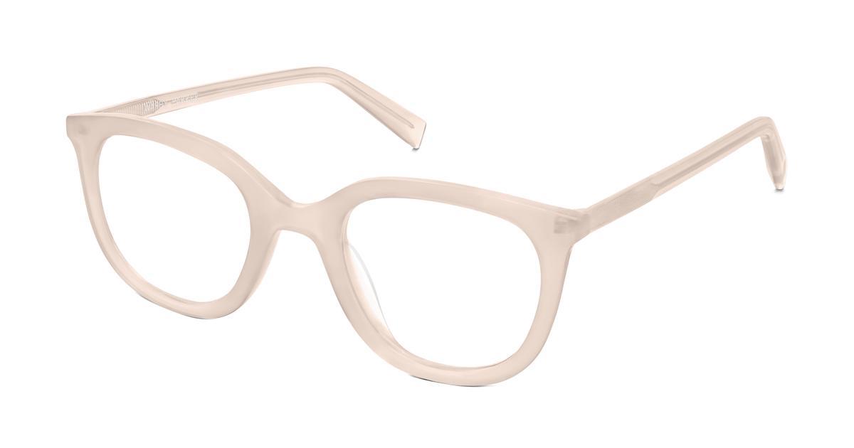 Warby Parker Laurel 17 Eyeglasses in Rose Quartz for Women