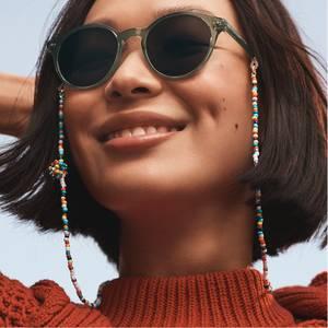 Eyewear Chain Roxanne Assoulin x Warby Parker